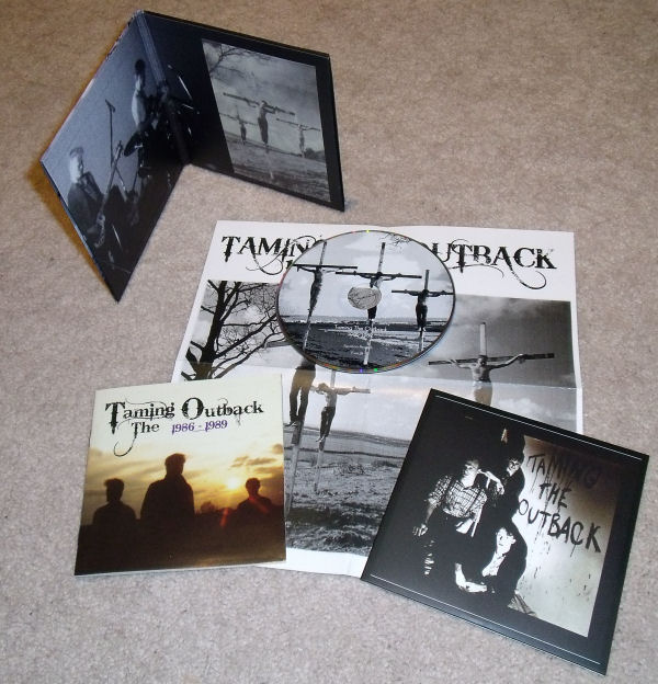 Taming The Outback :: 1986-1989 :: CD